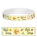 Pack of 30 Secret Wings Adhesive Paper Wristbands