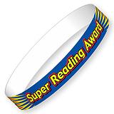 Super Reading Award Glossy Wristbands (10 Wristbands - 220mm x 13mm) Brainwaves