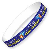 I'm a Star Reader Wristbands (10 Wristbands - 220mm x 13mm) Brainwaves