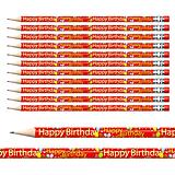 Happy Birthday Pencils (12 Pencils) Brainwaves