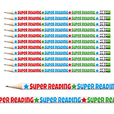 Super Reading Pencils (12 Pencils) Brainwaves