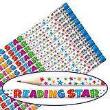 Reading Star Pencils (12 Pencils) Brainwaves