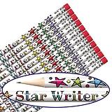 Star Writer Metallic Pencils (12 Pencils) Brainwaves