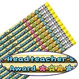 Headteacher's Award Metallic Pencils (12 Pencils) Brainwaves