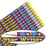 Star Writer Foil Pencils (12 Pencils) Brainwaves