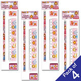 Pack of 4 Princess Stationery Sets