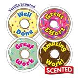 Scented Vanilla Stickers - Doughnuts (45 Stickers - 32mm)