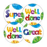 Scented Bubblegum Stickers (45 Stickers - 32mm)