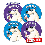 Scented Mint Stickers - Cool (20 Stickers - 32mm)