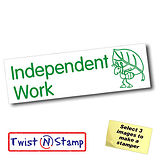 Independent Work Stamper - Twist N Stamp