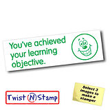 Learning Objective Achieved Stamper - Twist N Stamp