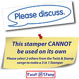 Please Discuss Stamper - Twist N Stamp