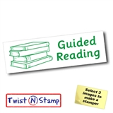 Guided Reading Stamper - Twist N Stamp