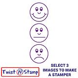 Smiley Faces Assessment Stamper - Twist N Stamp