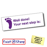 Well Done! Your Next Step is: Stamper - Twist N Stamp