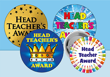Head Teacher Stickers and Badges