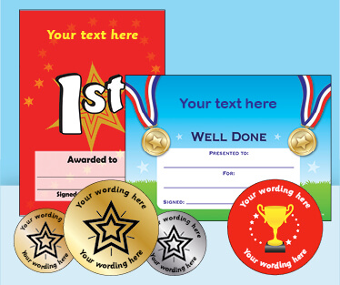 Personalised Products for Sports Day
