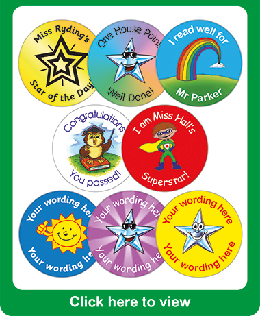 Personalised Stickers Uk Teachers