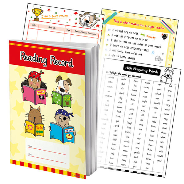 School Reading Record Books | Homework Diaries | From 48p