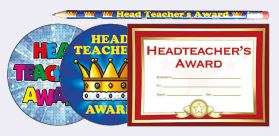 Head Teacher Certificates, Stickers, badges and pencils can be used as an extra special reward
