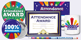 Rewards for 100% Attendance or Good Attendance in School