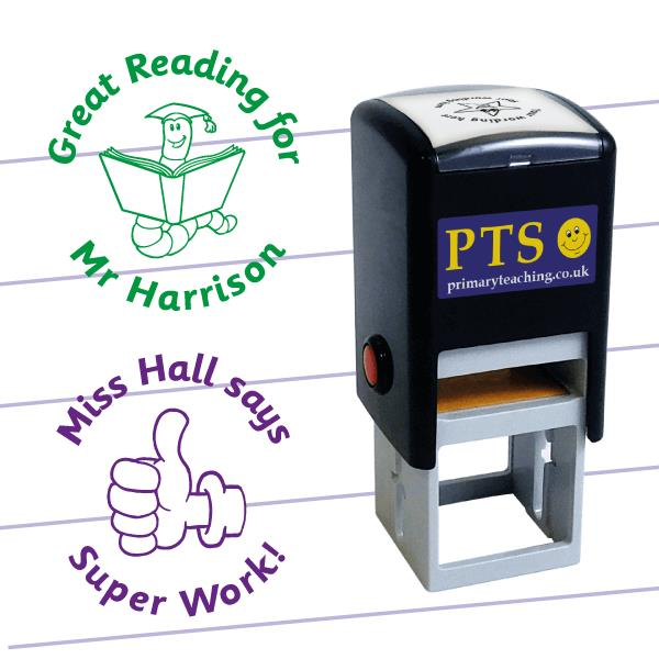 pts teacher stamps personalised just 10 50 each including p p