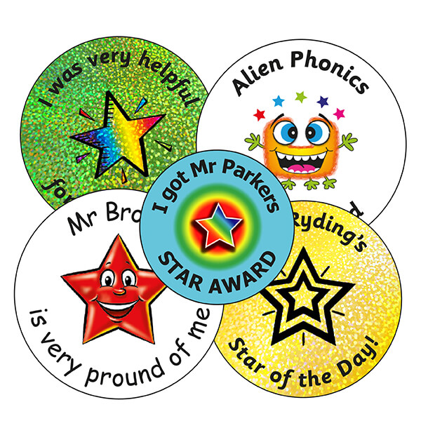 Personalised School Stickers