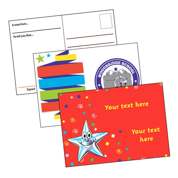 Personalised Postcards Home