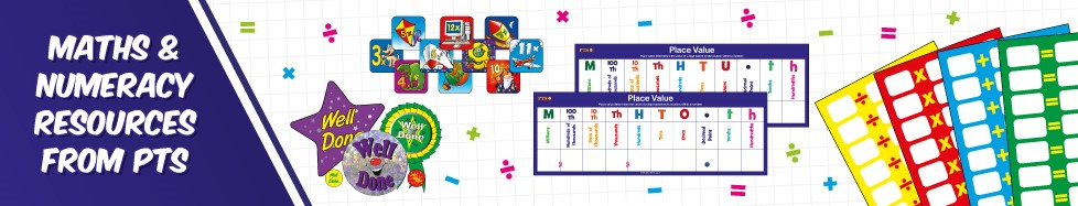 Maths and Numeracy Resources from PTS - The New Multiplication Test