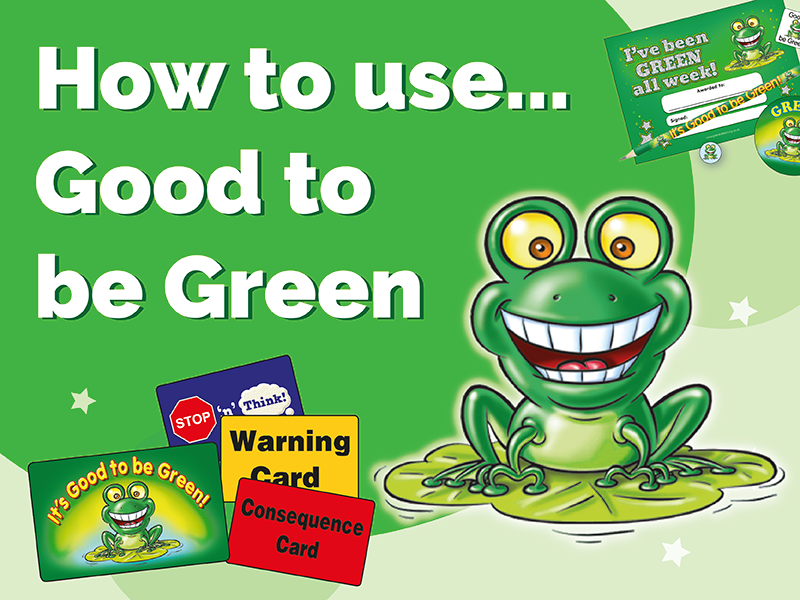 How to use Good to be Green