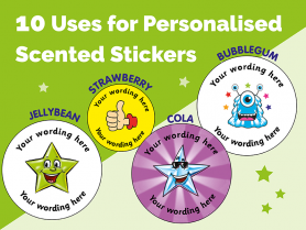 Personalised Scented Stickers