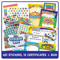 *Special Offer* Sticker Box Plus Certificate Sample Pack