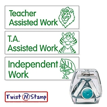 3 In 1 Assisted/Independent Work - Twist N Stamp