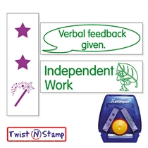 3 In 1 Feedback Stamper - Twist N Stamp