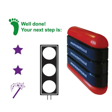 3 in 1 Traffic/Next Step/Two Stars Stamper - Stack N Stamp