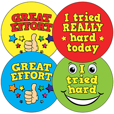 Mixed Wording Stickers (35 Stickers - 37mm)