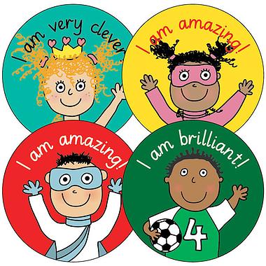New School Stickers