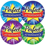 Perfect Attendance Stickers (35 Stickers - 37mm)