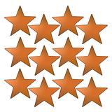 Sheet of 140 Bronze Metallic 18mm Star Stickers