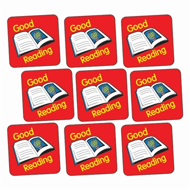 Good Reading Stickers (140 Stickers - 16mm)