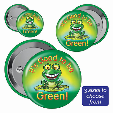 Good to be Green Badges (10 Badges)