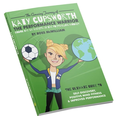 Katy Cupsworth - The Performance Warrior - Book by Ross McWilliam