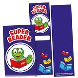 Pack of 30 Super Reader Bookmarks