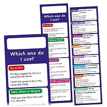 Grammar Bookmarks (30 Bookmarks)