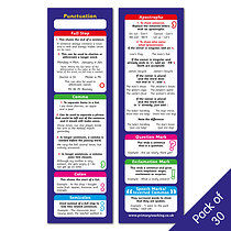 Punctuation Bookmarks - Pack of 30
