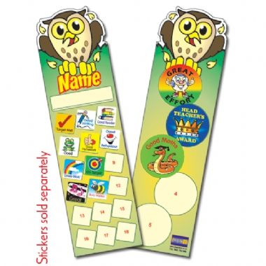 Owl Bookmarks (30 Bookmarks)
