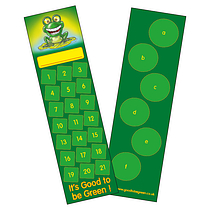 Pack of 30 Good to be Green Bookmarks