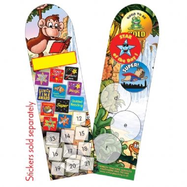 Pack of 30 Jungle Bookmarks