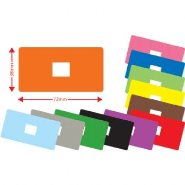 *Value Pack* Mixed Colours Large Library Book Labels x 1200