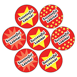 Successful Learner Stickers (35 Stickers - 20mm)